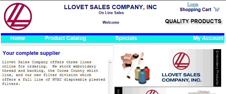LLovet Sales On-Line